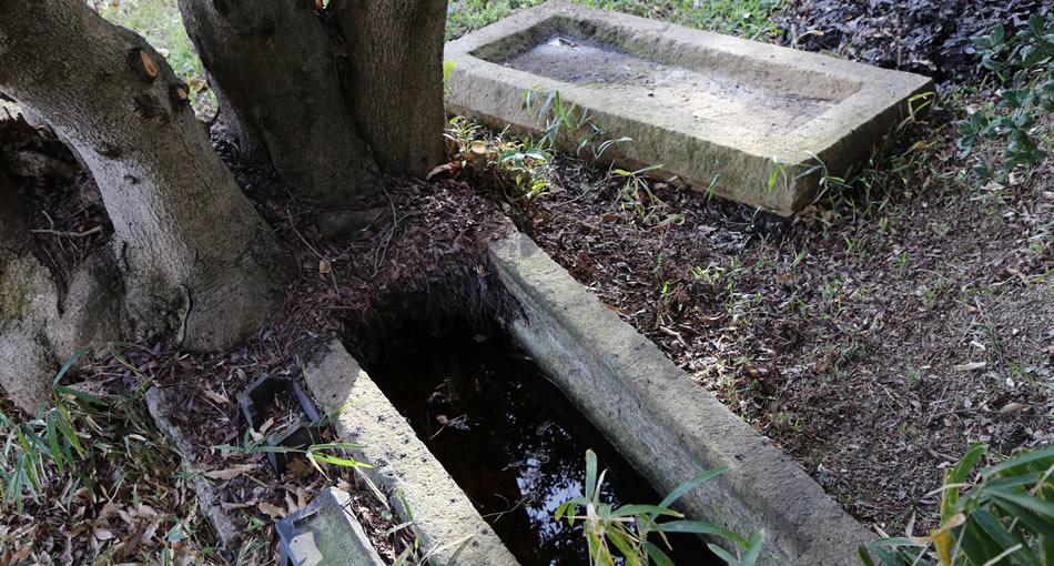 岡の谷1号墳・石棺