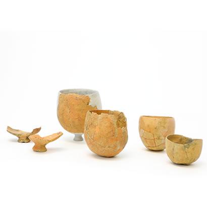 引野遺跡出土品丸底式の製塩土器