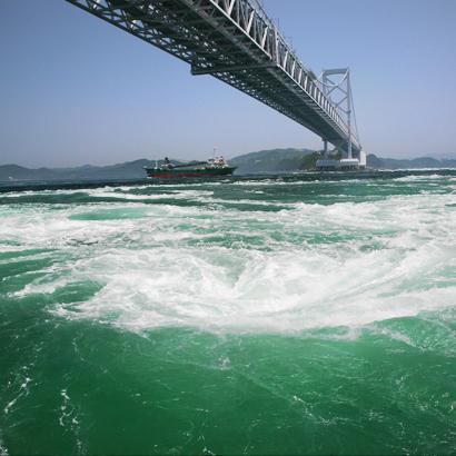 鳴門海峡とうずしお