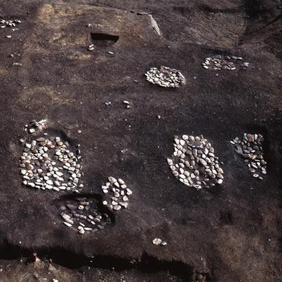 貴船神社遺跡・発掘の様子/兵庫県立考古博物館提供