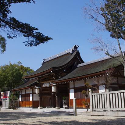 伊弉諾神宮・正門
