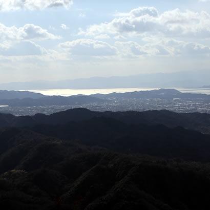 淡路富士ともよばれる先山からの風景
