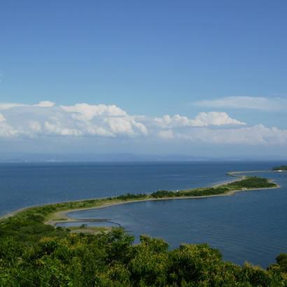 紀淡海峡と由良・成ケ島